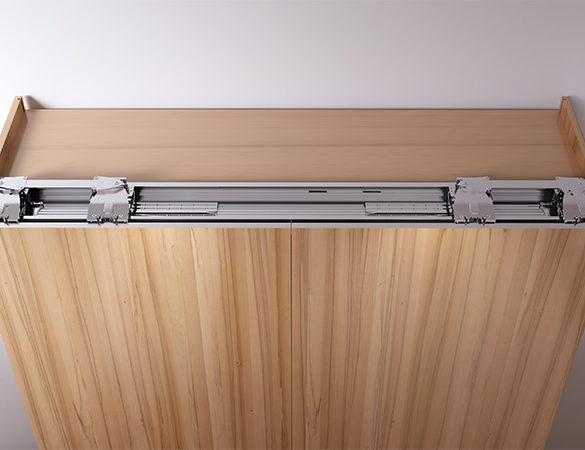 Шкаф с компланарной системой PLANO