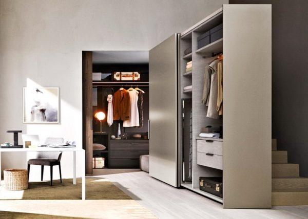 Шкафы с итальянской подвесной системой GLOW+