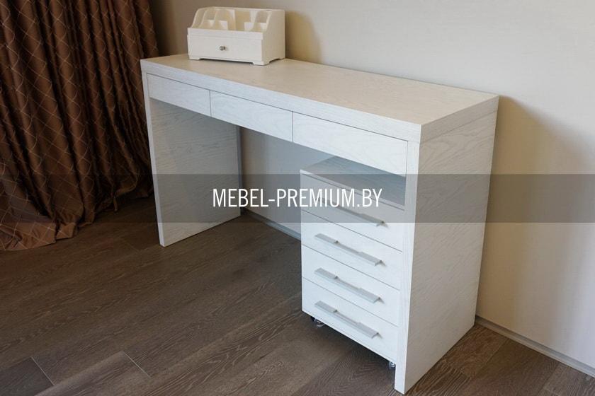 мебель для спальни из шпона прикроватный столик тумбочка шпон